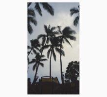 Tropical Hawaiian Palm Trees Kids Clothes