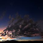 ©HCS The October Sunset In Pano IA. by OmarHernandez