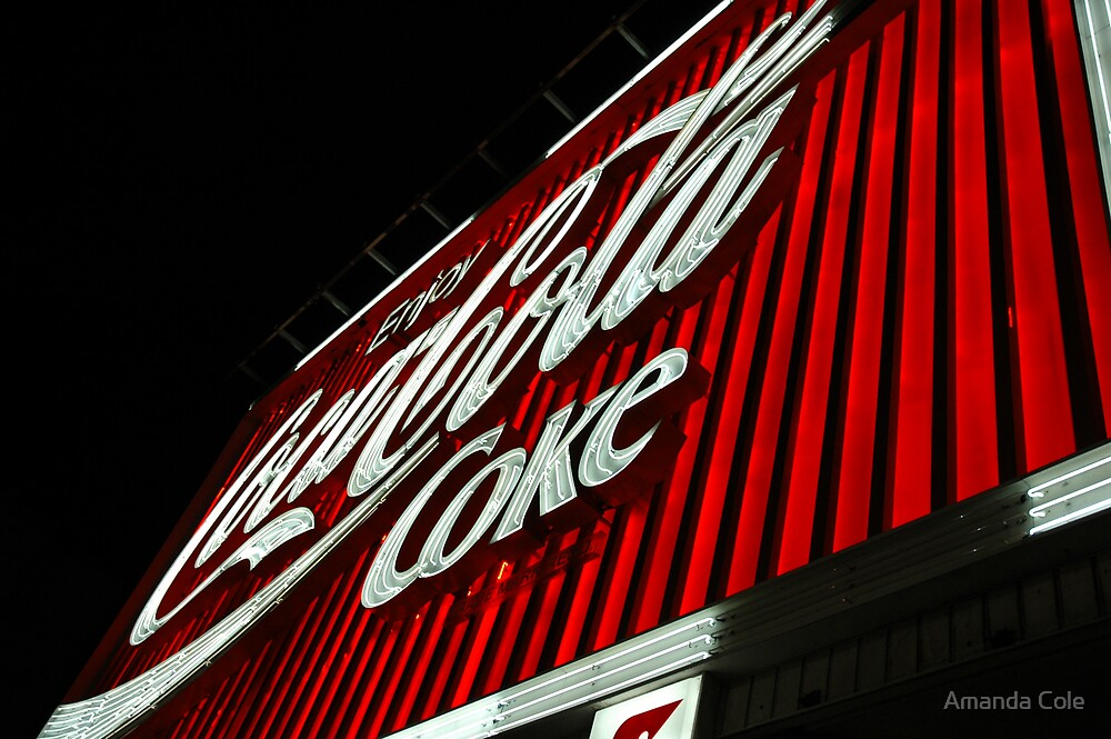 Coke Sign by Amanda Cole