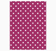 Polkadots Pink and White Kids Clothes