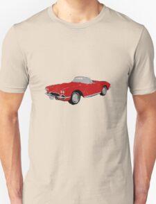 Lola: The '62 Corvette Unisex T-Shirt