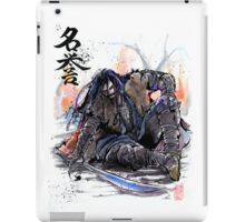 Thorin from the Hobbit sumi and watercolor style iPad Case/Skin