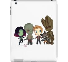Guardians of the Galaxy Chibis by KlockworkKat iPad Case/Skin