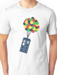 The Police Box on the sky... Unisex T-Shirt