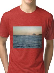 Location, Location, Location!  Stick House on The Ocean Tri-blend T-Shirt