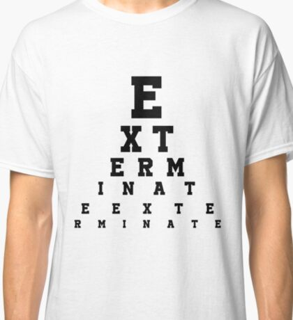 Dalek Eye Table Classic T-Shirt