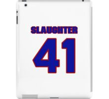 National baseball player Sterling Slaughter jersey 41 iPad Case/Skin