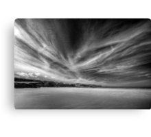 Donegal Beach in Black and White Canvas Print