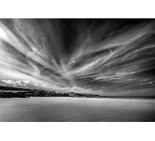 Donegal Beach in Black and White Photographic Print