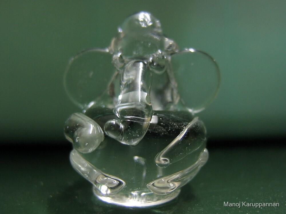 dashboard glass ganesha by Manoj Karuppannan