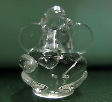 dashboard glass ganesha by Manoj Karuppannan
