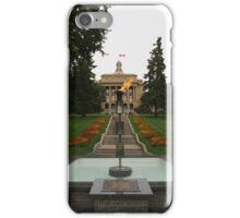 Alberta Centennial Flame iPhone Case/Skin