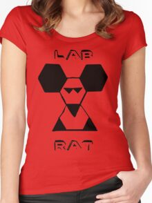 Lab Rat Women's Fitted Scoop T-Shirt