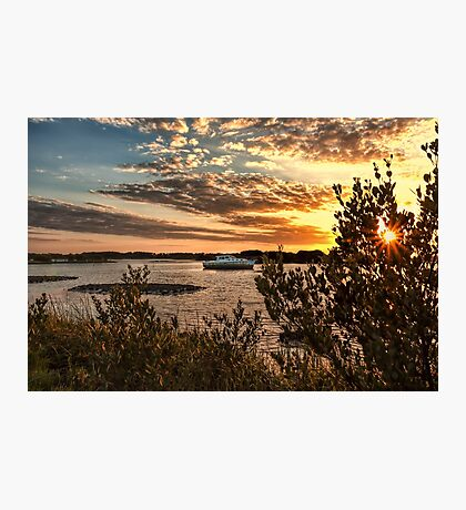 Late Afternoon in Cedar Key Photographic Print