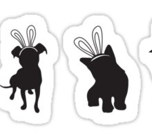 Join the bunny theory revolution Sticker