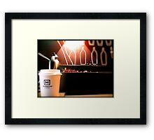 One lump or two? Framed Print