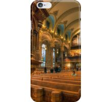 Gathered in His Name iPhone Case/Skin