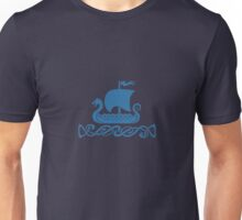 Dragon Boat - Blue Unisex T-Shirt