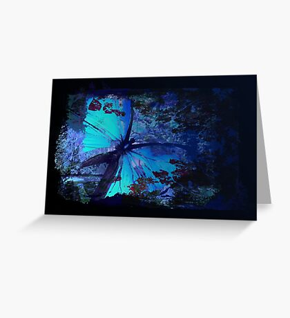 Butterfly effect Greeting Card