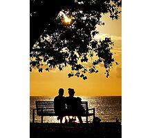 Spring Silhouette Photographic Print