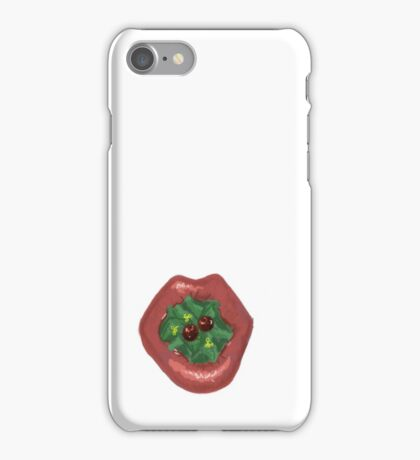 Berry Lips iPhone Case/Skin