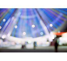 Ferris all a blur Photographic Print
