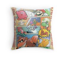Super Smash Bros 64 Japan Cover Throw Pillow
