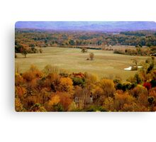 Down In The Valley (SMALLTOWN USA series)  ^ Canvas Print