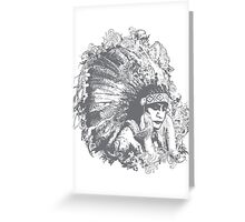 THE NATIVE Greeting Card
