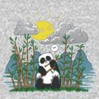 Panda In Rain by VanHogTrio