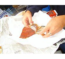 Smoked Salmon Photographic Print