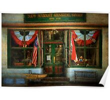 New Market General Store Poster