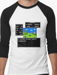 A Slime Draws Near Men's Baseball ¾ T-Shirt