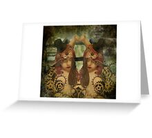 Mechanical Dreams Greeting Card