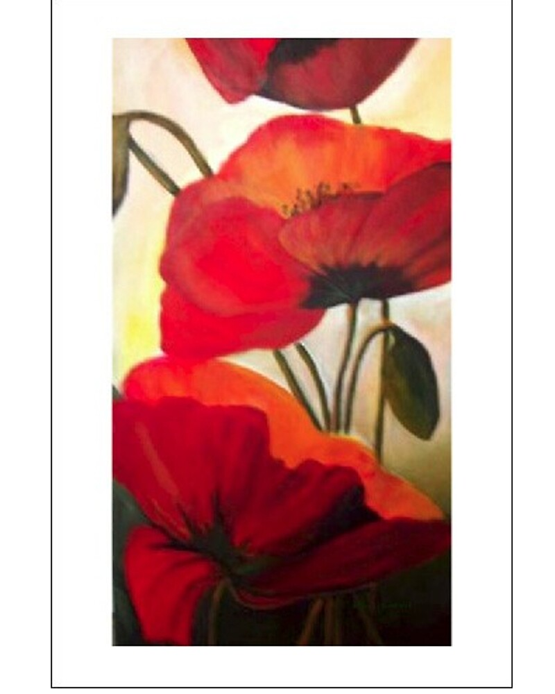 Red Poppies by Eileen Kasprick