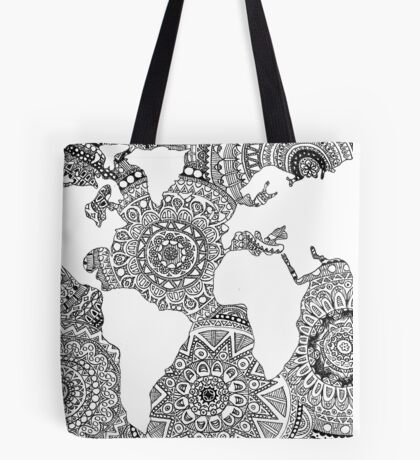 Original World Design Tote Bag