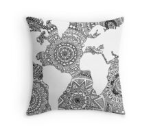 Original World Design Throw Pillow