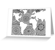 Original World Design Greeting Card