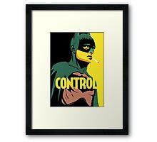 Control Framed Print