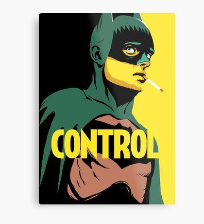 Control Metal Print