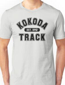 Kokoda Track Est 1942 Black Vintage Unisex T-Shirt