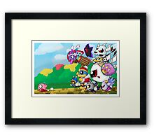 Run Kirby, Run! Framed Print