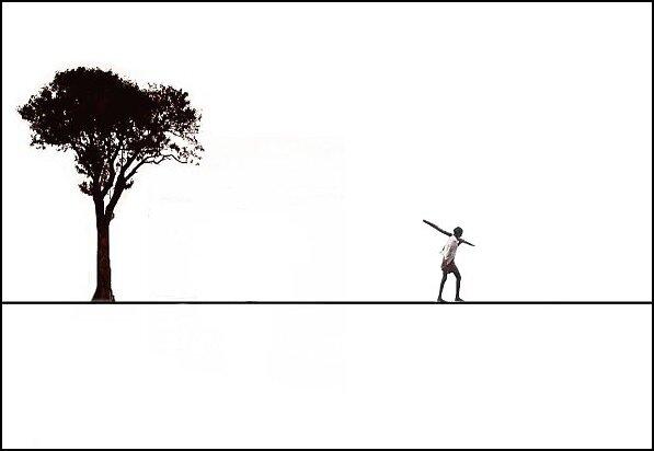 Walking Alone by Kaushik Chatterjee