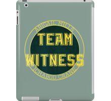 Team Witness. iPad Case/Skin