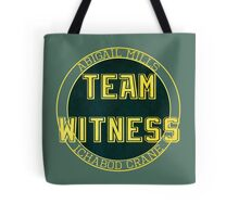 Team Witness. Tote Bag