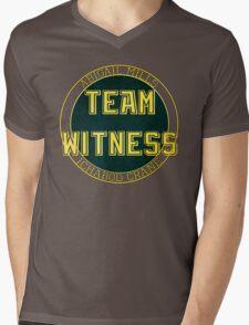 Team Witness. Mens V-Neck T-Shirt