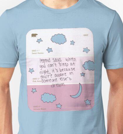 legand says Unisex T-Shirt