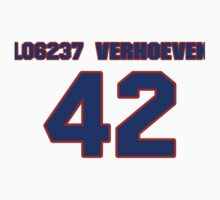 National baseball player John Verhoeven jersey 42 by imsport