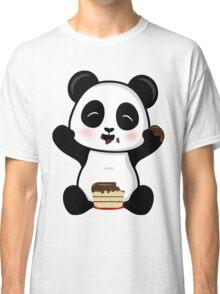 Cake Eating Panda Classic T-Shirt