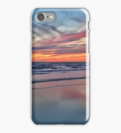 Sonnenuntergang am Meer iPhone Case/Skin